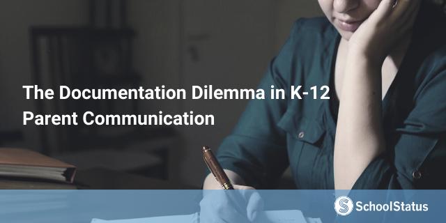 The Issue of K12 Communication Documentation-1